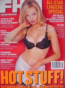 FHM magazine - Kimberley Davies cover (November 1996)