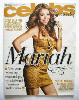 Celebs magazine - Mariah Carey cover (1 November 2009)