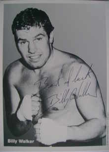 Billy Walker autograph