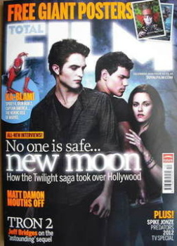 Total Film magazine - Twilight cover (December 2009)