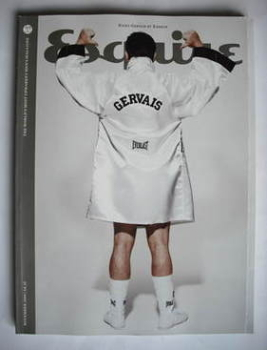 Esquire magazine - Ricky Gervais cover (November 2009)