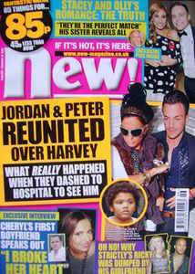 <!--2009-11-16-->New magazine - 16 November 2009 - Jordan and Peter Andre c