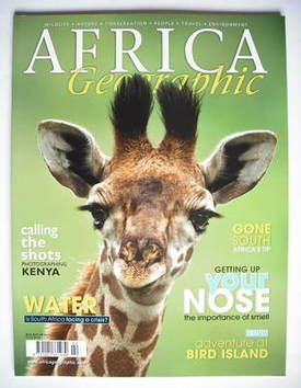 Africa Geographic magazine (Volume 17 No 2 - 2009 issue)