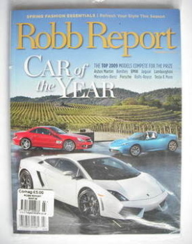 Robb Report magazine (March 2009)