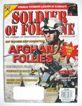 Soldier Of Fortune magazine (April 2009)