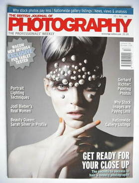 The British Journal Of Photography magazine (25 March 2009)