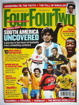 FourFourTwo magazine (April 2009)