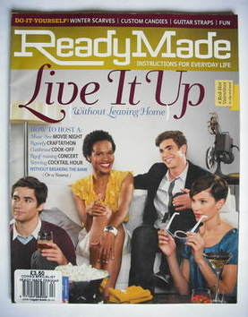 ReadyMade magazine (February/March 2009)