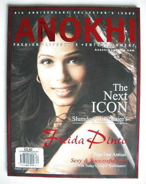Anokhi magazine - March 2009 - Freida Pinto cover