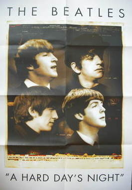 The Beatles - A Hard Day's Night poster