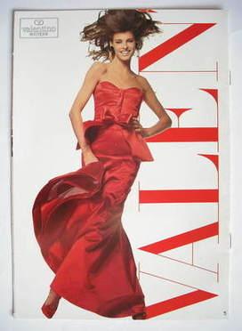 Valentino fashion leaflet - Linda Evangelista cover