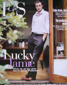 <!--2005-08-19-->Evening Standard magazine - Jamie Theakston cover (19 August 2005)
