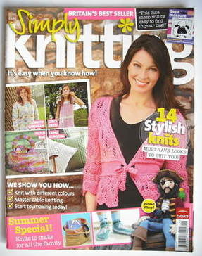 Simply Knitting magazine (Issue 30 - July 2007)