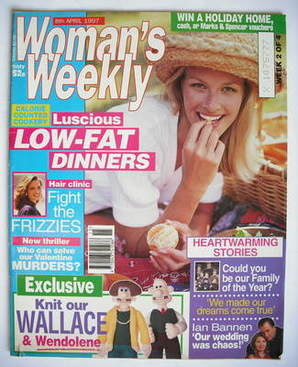 <!--1997-04-08-->Woman's Weekly magazine (8 April 1997)
