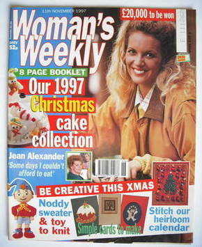 <!--1997-11-11-->Woman's Weekly magazine (11 November 1997)
