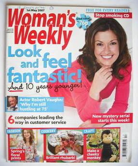 <!--2007-05-01-->Woman's Weekly magazine (1 May 2007 - British Edition)