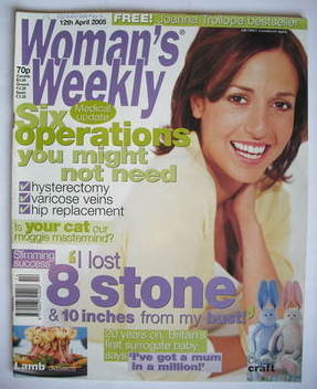 <!--2005-04-12-->Woman's Weekly magazine (12 April 2005)
