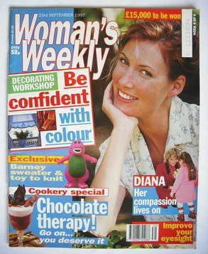 <!--1997-09-23-->Woman's Weekly magazine (23 September 1997)