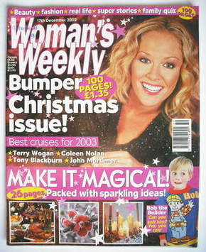 <!--2002-12-17-->Woman's Weekly magazine (17 December 2002)