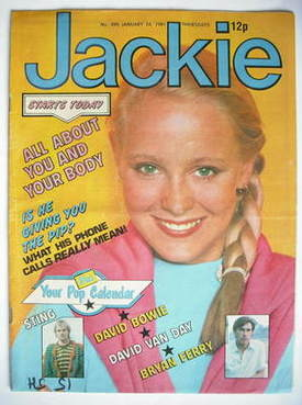 <!--1981-01-24-->Jackie magazine - 24 January 1981 (Issue 890)
