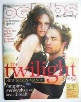 Celebs magazine - Robert Pattinson and Kristen Stewart cover (22 November 2009)