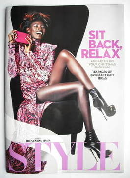<!--2009-11-22-->Style magazine - Sit Back, Relax cover (22 November 2009)