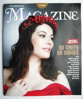 <!--2009-11-21-->The Times magazine - Nigella Lawson cover (21 November 200