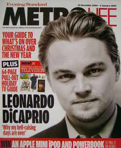 <!--2004-12-24-->Metrolife magazine - Leonardo DiCaprio cover (24 December