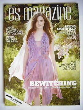 <!--2009-06-26-->Evening Standard magazine - Bonnie Wright cover (26 June 2