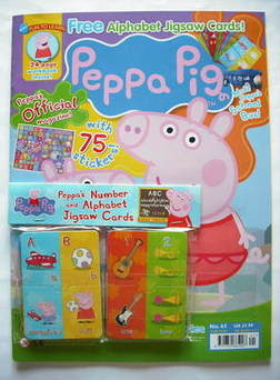 <!--2009-07-->Peppa Pig magazine - No. 41 (July 2009)