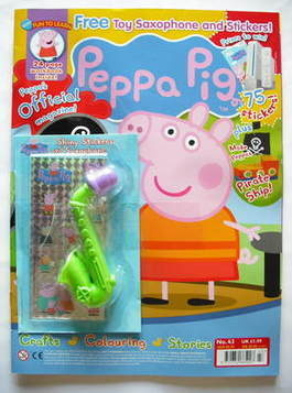 <!--2009-08-->Peppa Pig magazine - No. 43 (August 2009)