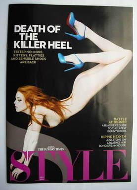 <!--2009-11-08-->Style magazine - Death Of The Killer Heel (8 November 2009