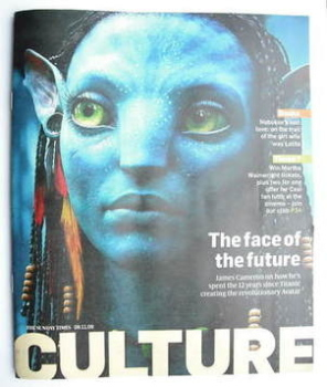Culture magazine - The Face Of The Future cover (8 November 2009)