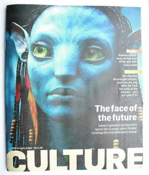 <!--2009-11-08-->Culture magazine - The Face Of The Future cover (8 Novembe
