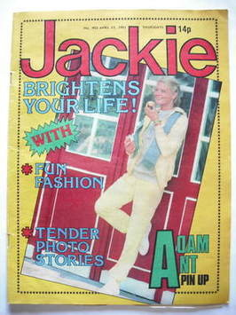 <!--1981-04-25-->Jackie magazine - 25 April 1981 (Issue 903)