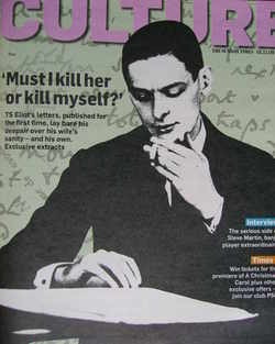 <!--2009-11-01-->Culture magazine - TS Eliot cover (1 November 2009)