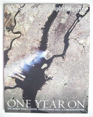 The Sunday Telegraph magazine - 9/11 The World Trade Center One Year On (1