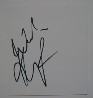 Kevin Pietersen autograph