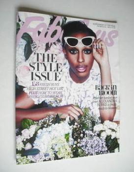 Fabulous magazine - Alexandra Burke cover (18 February 2012)