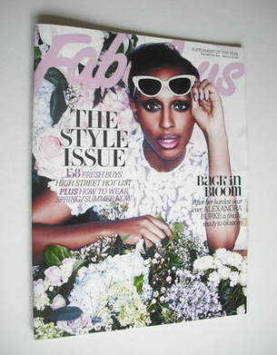 <!--2012-02-18-->Fabulous magazine - Alexandra Burke cover (18 February 201
