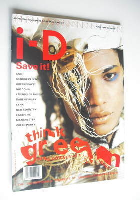 <!--1986-06-->i-D magazine - Think Green cover (June 1986 - Issue 37)