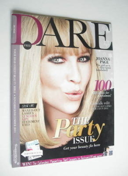 Dare magazine - Joanna Page cover (November/December 2011)