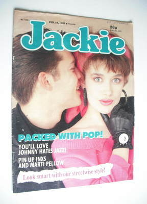 <!--1988-02-27-->Jackie magazine - 27 February 1988 (Issue 1260)