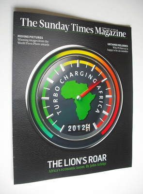 <!--2012-02-26-->The Sunday Times magazine - The Lion's Roar cover (26 Febr