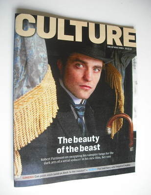 <!--2012-02-26-->Culture magazine - Robert Pattinson cover (26 February 201