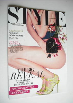 Style magazine - The Big Reveal cover (26 February 2012)