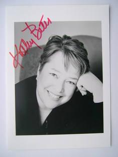 Kathy Bates autograph