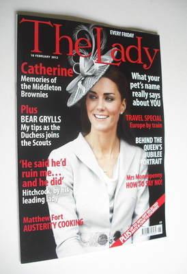 <!--2012-02-10-->The Lady magazine (10 February 2012 - Kate Middleton cover