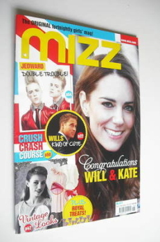 MIZZ magazine - Kate Middleton cover (28 April - 11 May 2011)