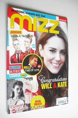 MIZZ magazine - Kate Middleton cover (28 April - 11 May 2011)